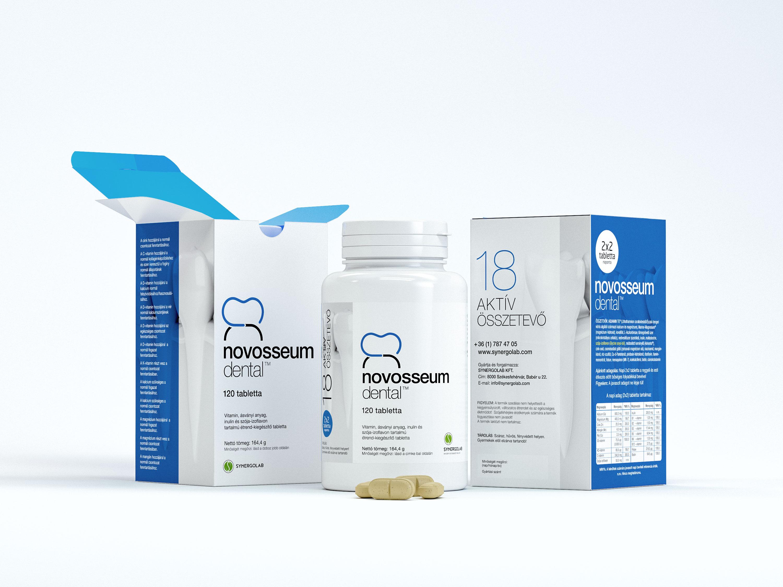 novosseum dental csontépülést segítő vitamin és ásványi anyag komplex